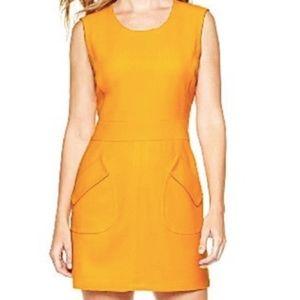 Worthington Mustard Yellow sleeveless Dress